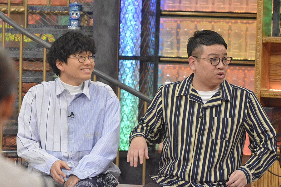 兄・昴生(右)は⻄川きよし師匠の話を盛ってしまう弟・亜生について言及 (C)ytv