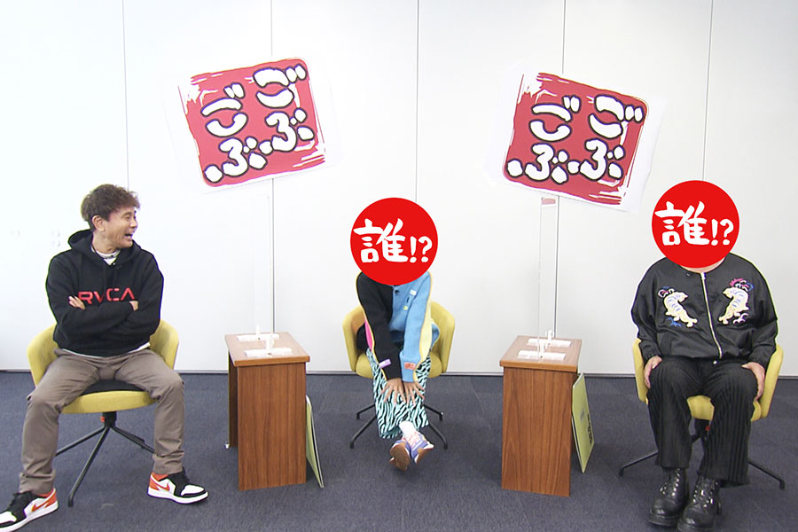 番組MCの浜田雅功(左)と相方たち(写真提供:MBS)