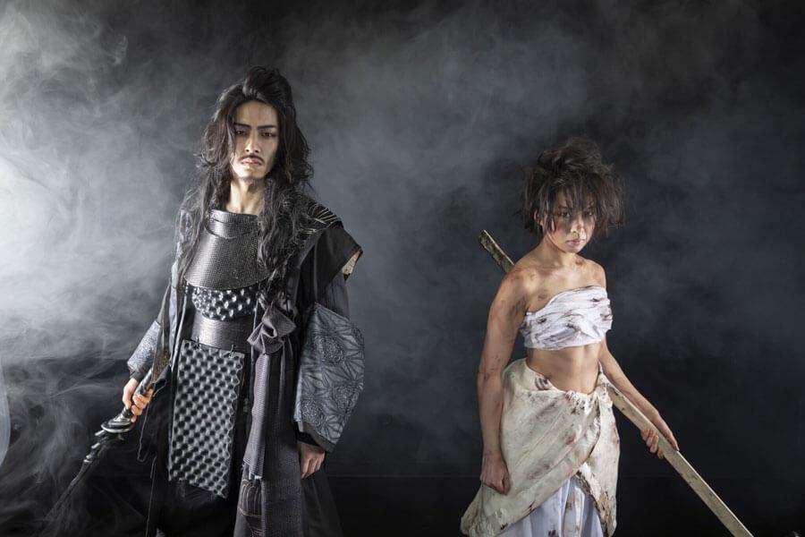 劇団壱劇屋の公演『BLACK SMITH』のイメージカット