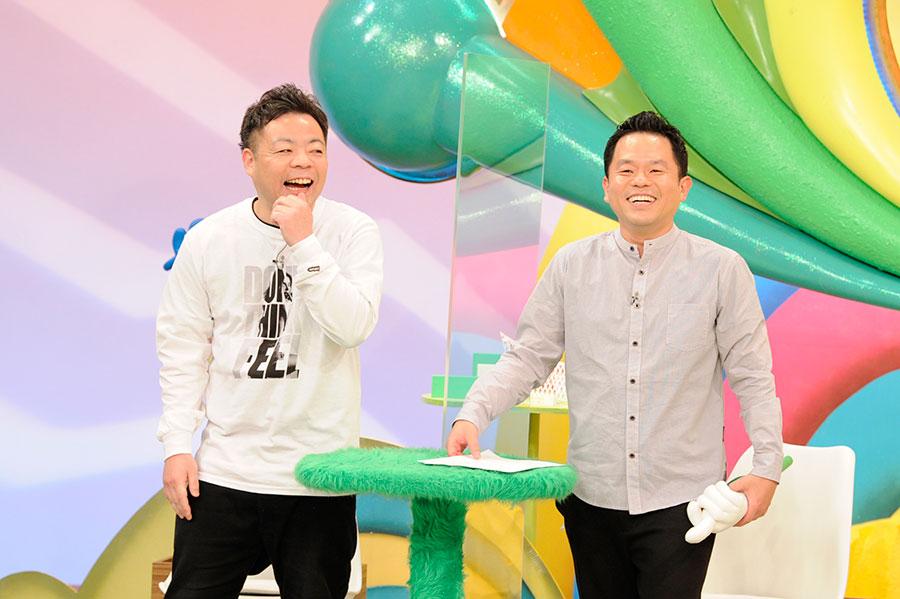 ロケに挑んだダイアン(左から、ユースケ・津田篤宏)(C)ABCテレビ
