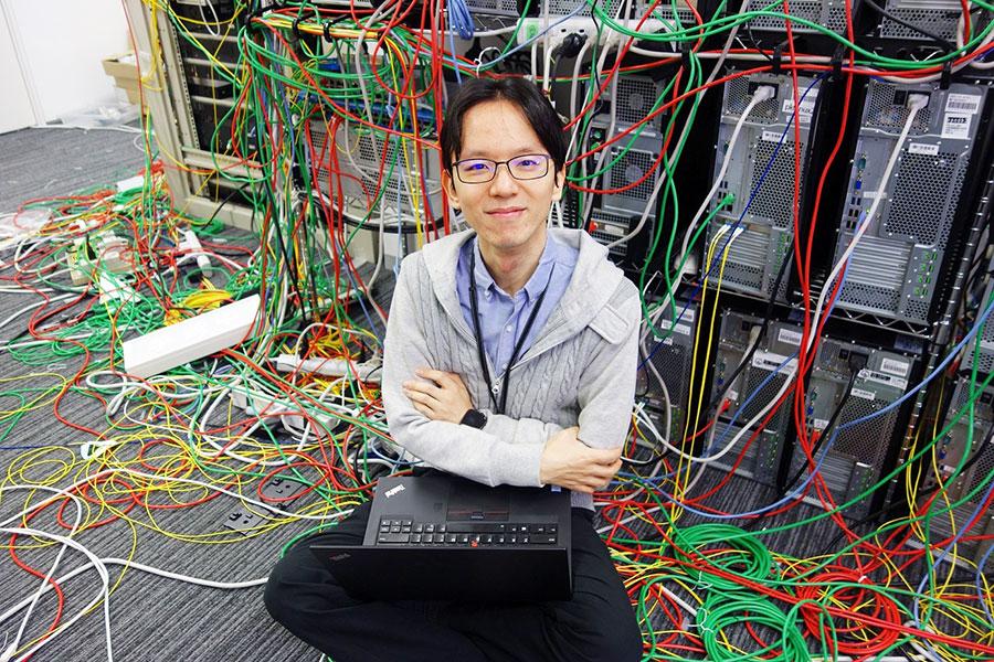 プログラマー・登 大遊さん(写真提供:MBS)