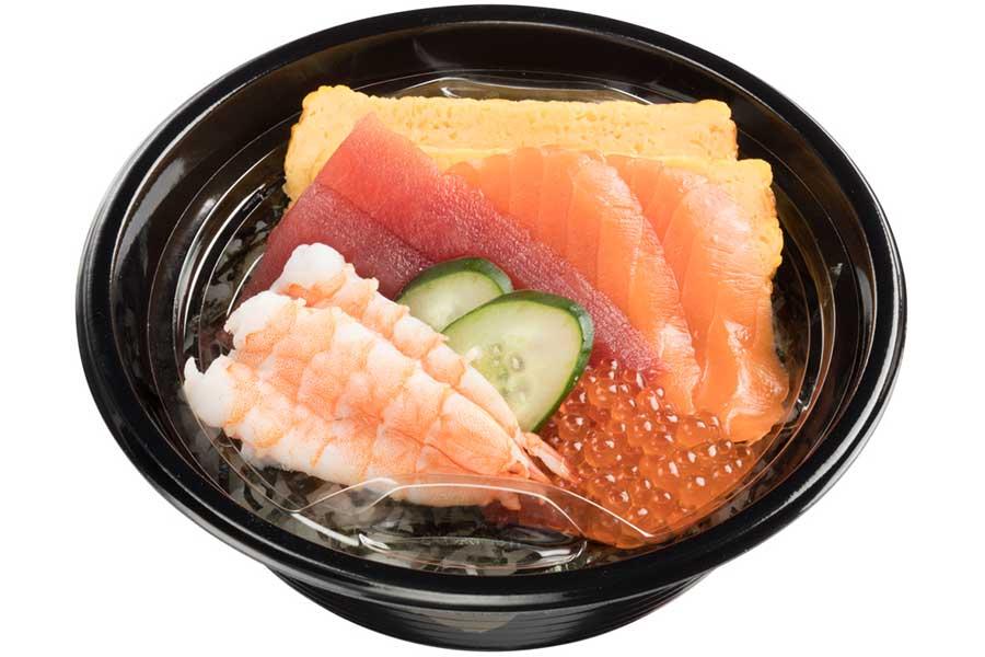 海鮮丼(790円)