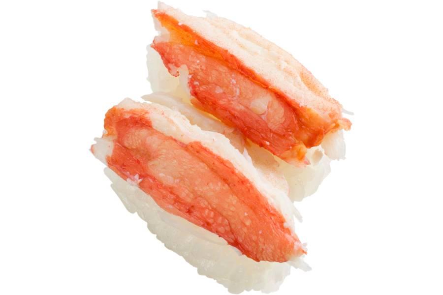 ボイル本ずわい蟹2貫(100円・税別)
