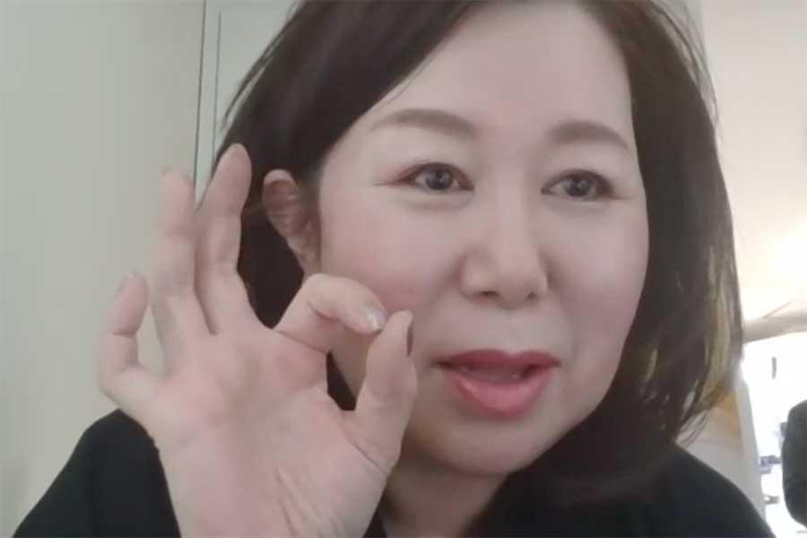質問に「ばっちりですよ!」と笑顔の岩田さん
