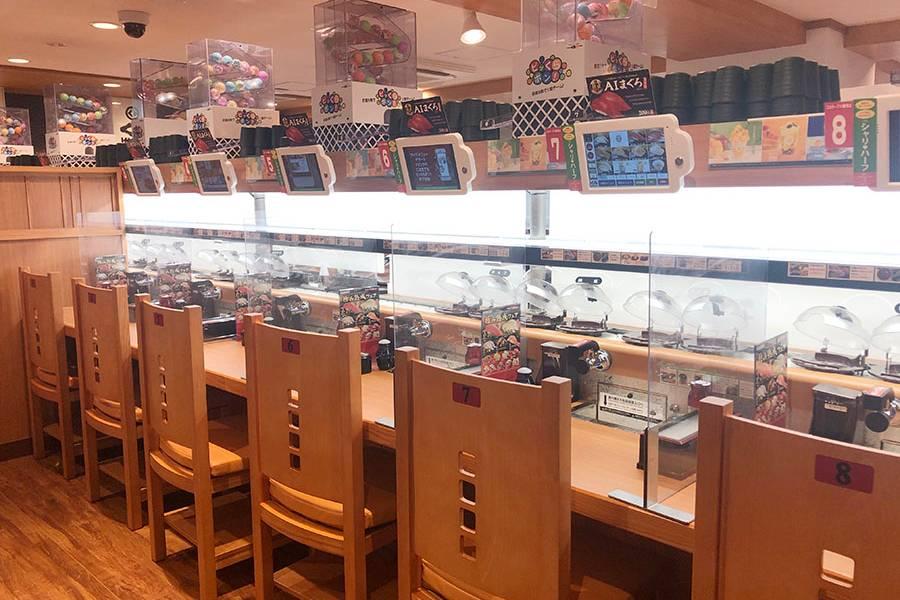 くら寿司店内の様子