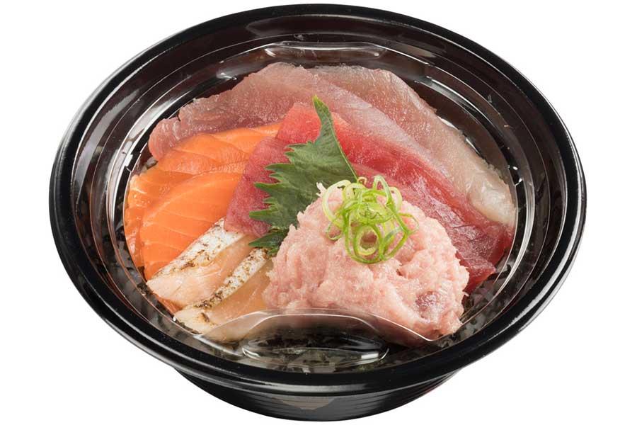 まぐろサーモン丼(880円)