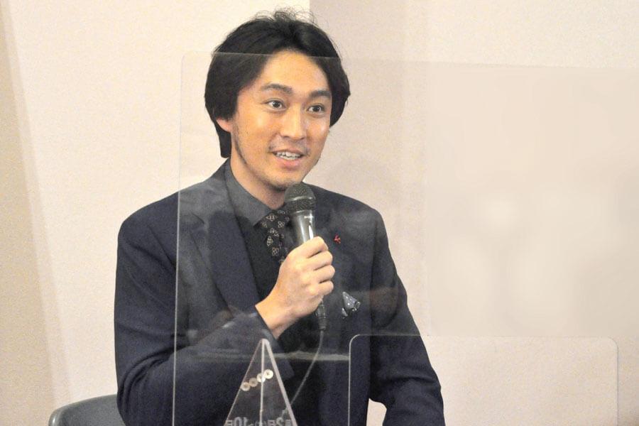 松平健との殺陣で「築浅のアパートみたいな僕が立ち向かわなきゃいけない(笑)」と渡辺大(2月18日・大阪市内)