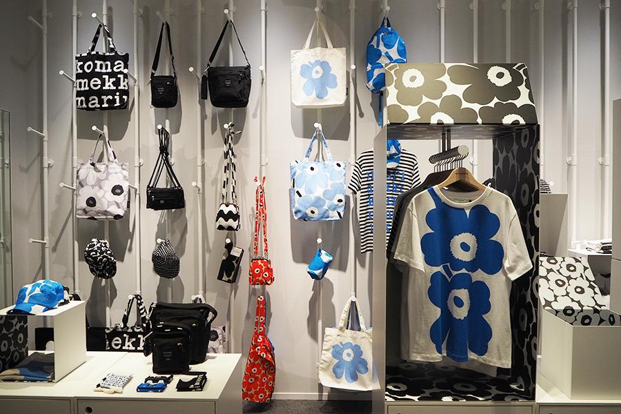 若い年代向けストリートウェアを提案するコレクションの世界初となる常設店「マリメッコ キオスキ大阪」