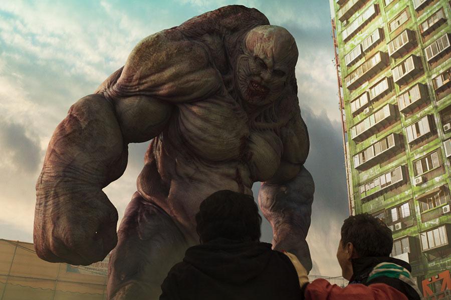巨大な怪物、それよりも巨大なのが「グリーンホーム」。Netflixオリジナルシリーズ「Sweet Home -俺と世界の絶望-」