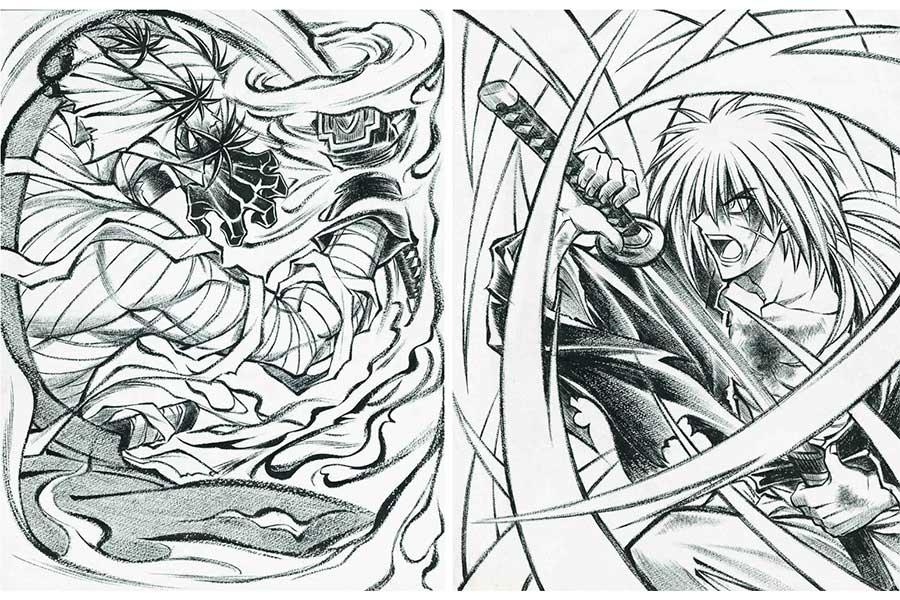 今回のイベントのための描き下ろしイラストも ©和月伸宏/集英社