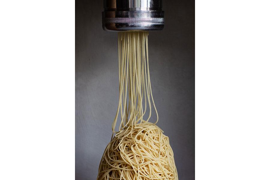 「和栗専門 紗織」のために開発した搾り器