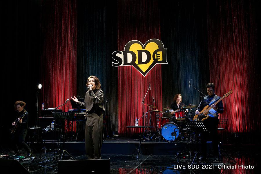 パフォーマンスを披露する松尾太陽(LIVE SDD 2021 Official Photo)