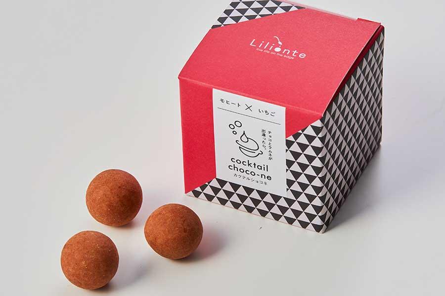 奈良産イチゴのあすかルビーを使用した『モヒート×いちご』(6個入り・660円・税別)