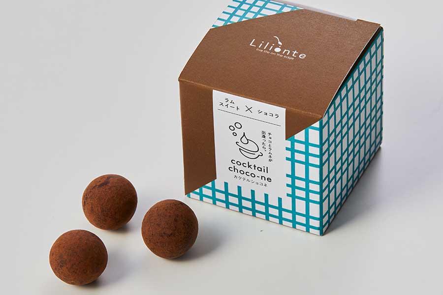 定番のミルクチョコがまろやかな『ラムスイート×ショコラ』(6個入り・660円・税別)