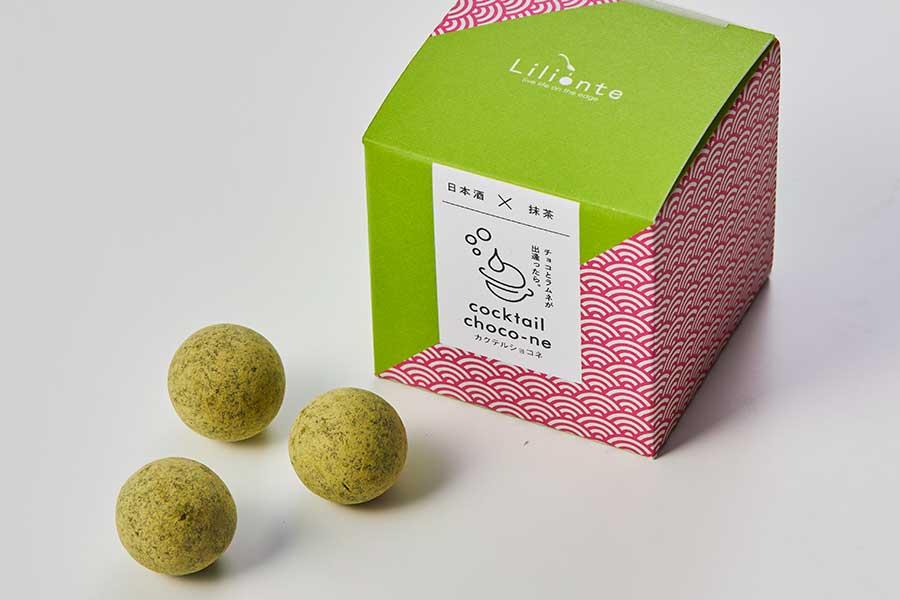 上質な大和抹茶が奥深い味わいの『日本酒×大和抹茶』(6個入り・660円・税別)