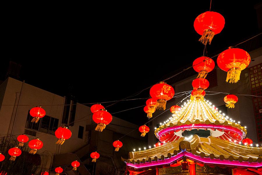 初のオンライン開催となる神戸の中華街「2021 南京町春節祭」イメージ