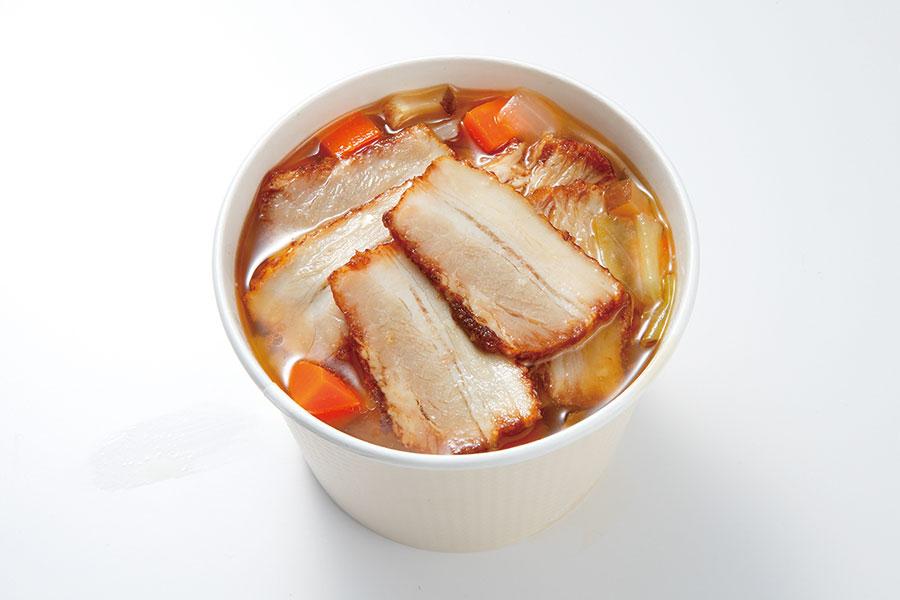 近畿地区のローソン限定「焼豚入り中華風 春雨スープ」(330円)