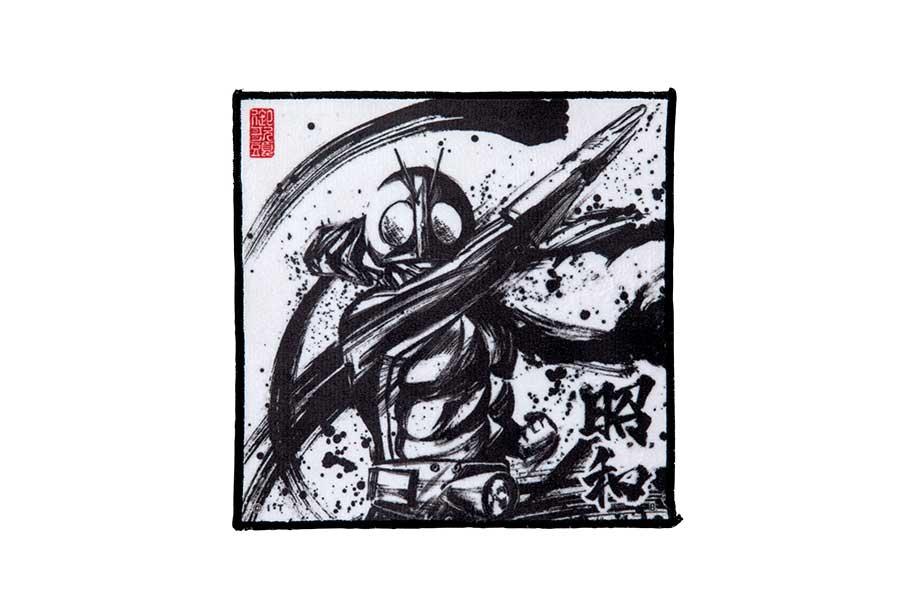 墨絵アートミニタオル(650円)