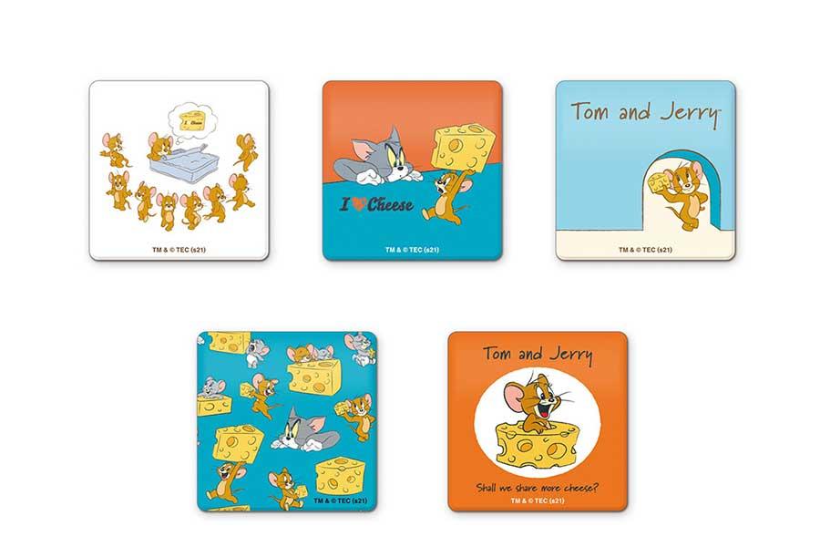 アクリルマグネット(ランダム5種・715円) TOM AND JERRY and all related characters and elements © &  Turner Entertainment Co. (s20)
