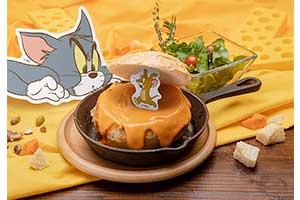 チーズがテーマの『トムとジェリー』カフェ、大阪で開催