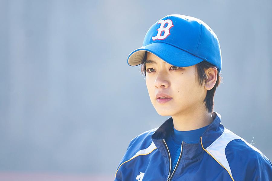 選手として野球を続けたいという主人公チュ・スイン。演じるのは、「梨泰院クラス」で、トランスジェンダー役が人気となったイ・ジュヨン。(C)2019 KOREAN FILM COUNCIL. ALL RIGHTS RESERVED