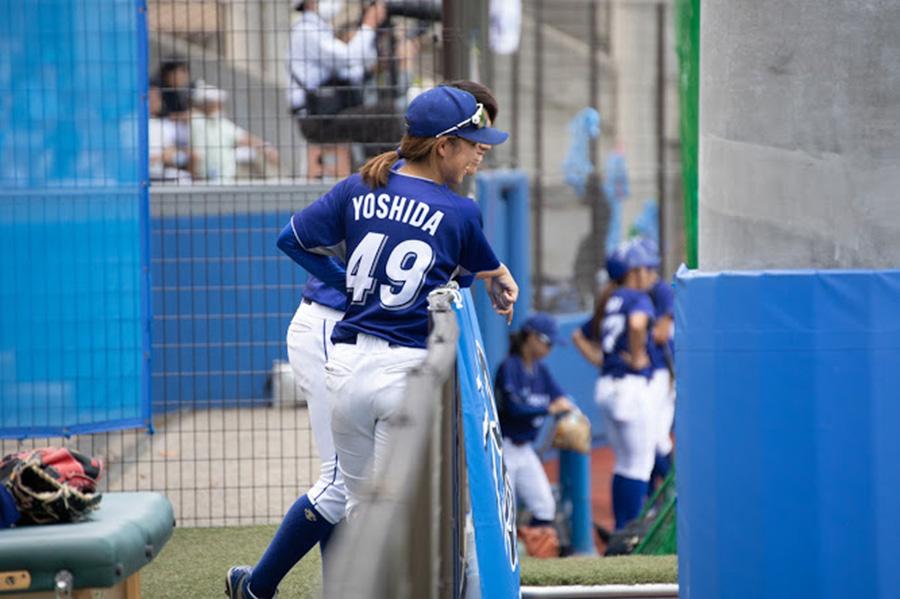 手術を経て、4月の復帰に向けて準備している吉田えり選手