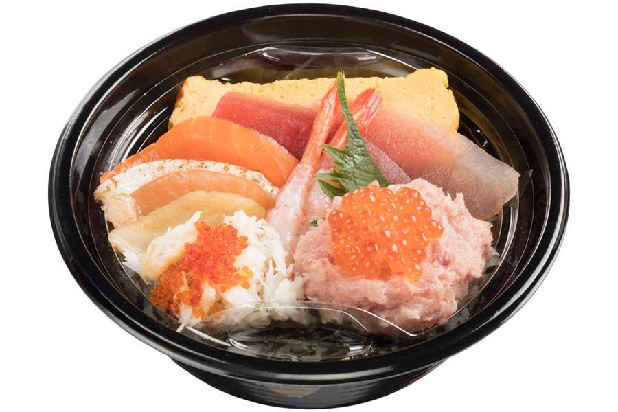 10種の海鮮丼(980円)