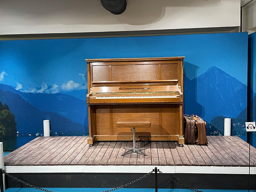 劇中でジョンヒョクがひいていた実物のピアノ