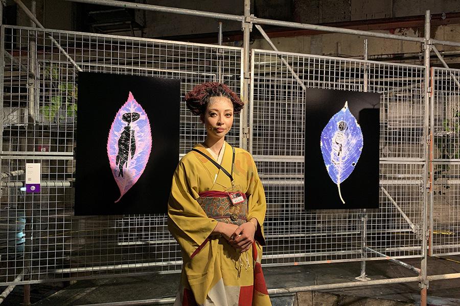 「京都新聞ビル地下1階」。ヤノベケンジ推薦のアーティストREMA