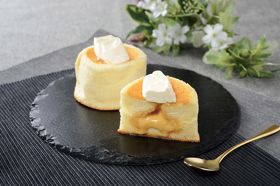 バターケーキや塩豆大福風のロールケーキ、ローソンに新作