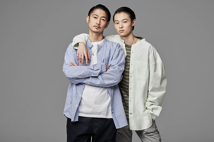 窪塚洋介(左)と長男・愛流