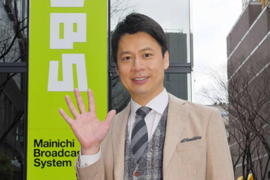 情報番組『ゴゴスマ~GOGO! Smile!~』のMC・石井亮次アナウンサー(13日・大阪市内) (C)MBS