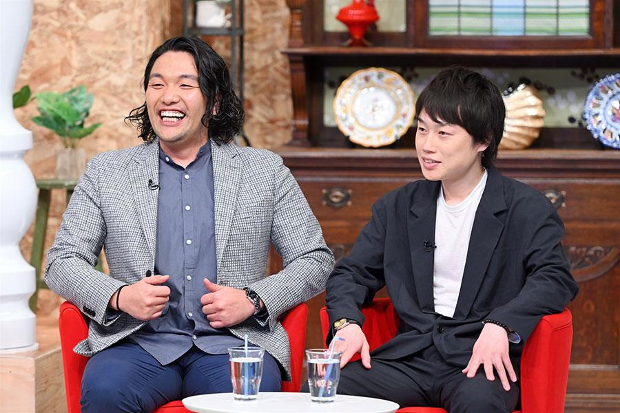 ゲストの見取り図(左から、盛山晋太郎、リリー)(写真提供:MBS)