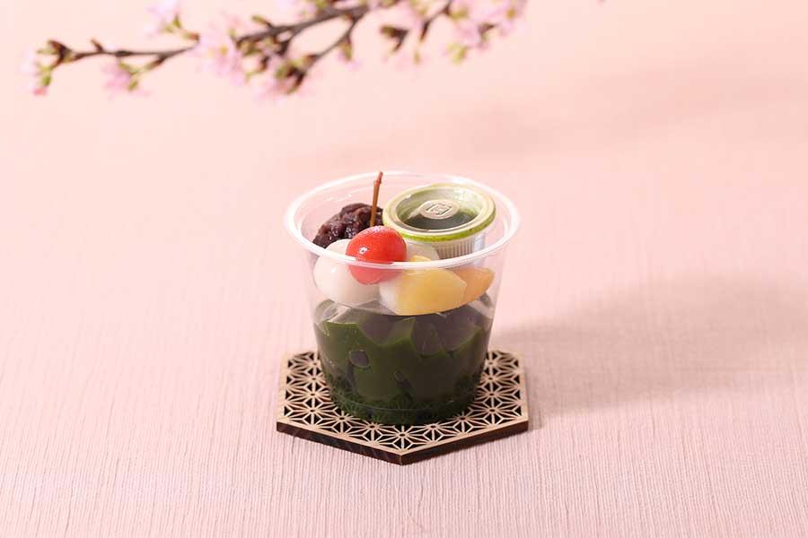 「宇治抹茶あんみつ」(320円・税別)