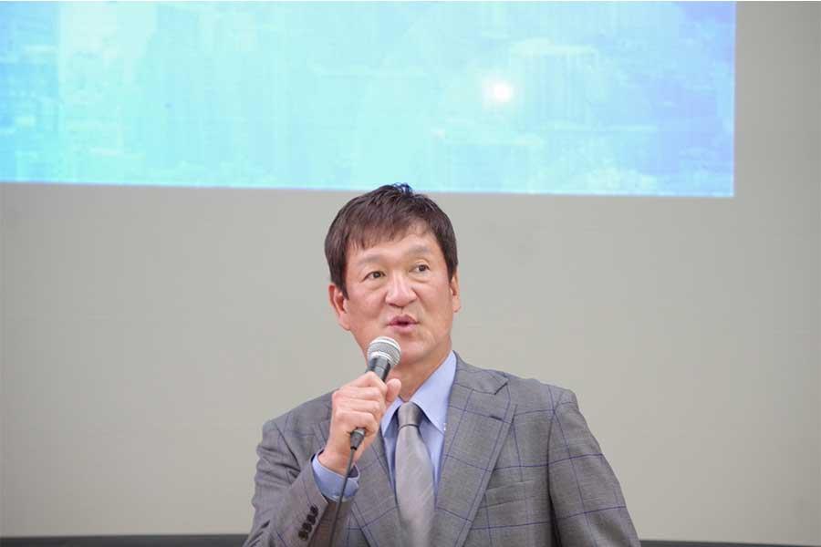 闘病生活を語る元阪神・片岡篤史さん