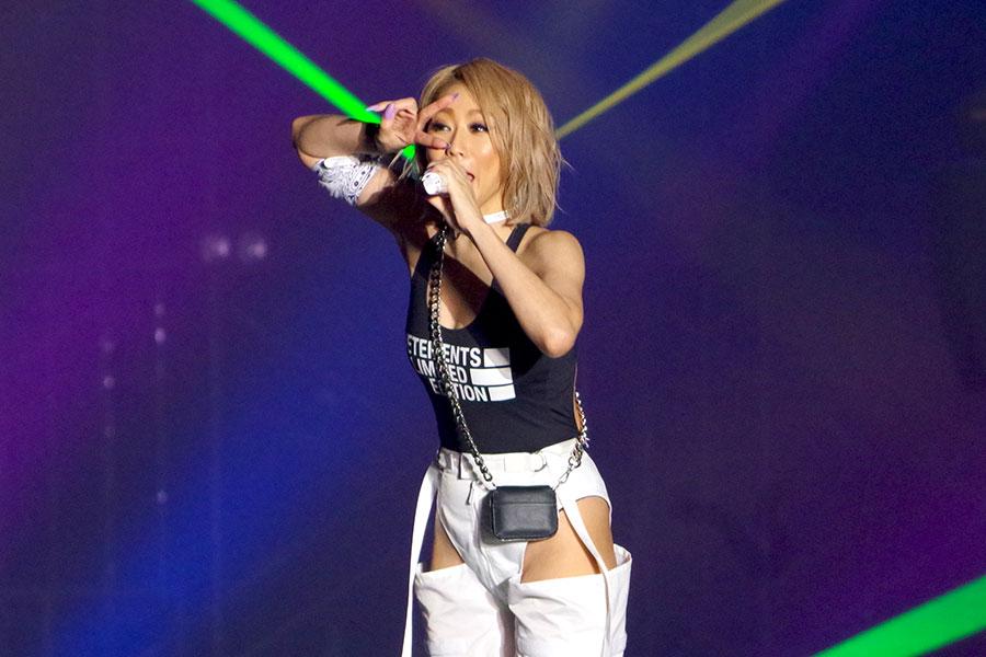 倖田來未、関コレでパワフルに熱唱「普段は良い人やから!」