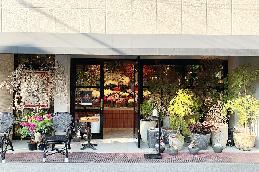 ショップやカフェが点在する御所南エリアにオープン