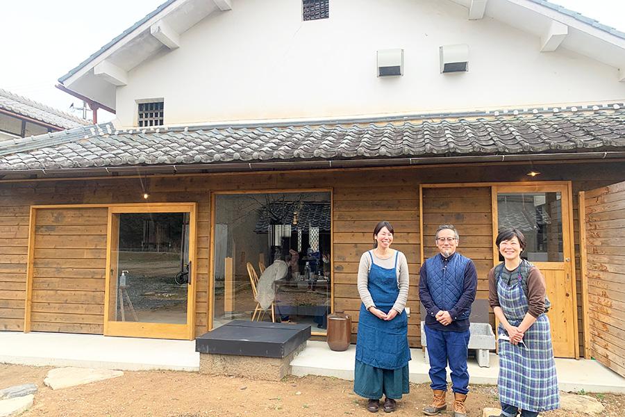 古民家を活用、兵庫・丹波篠山の農家が営む予約制ランチ店