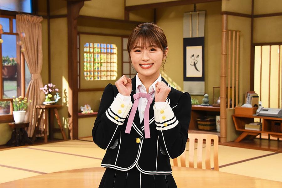 火曜レギュラーとして出演するNMB48・渋谷凪咲