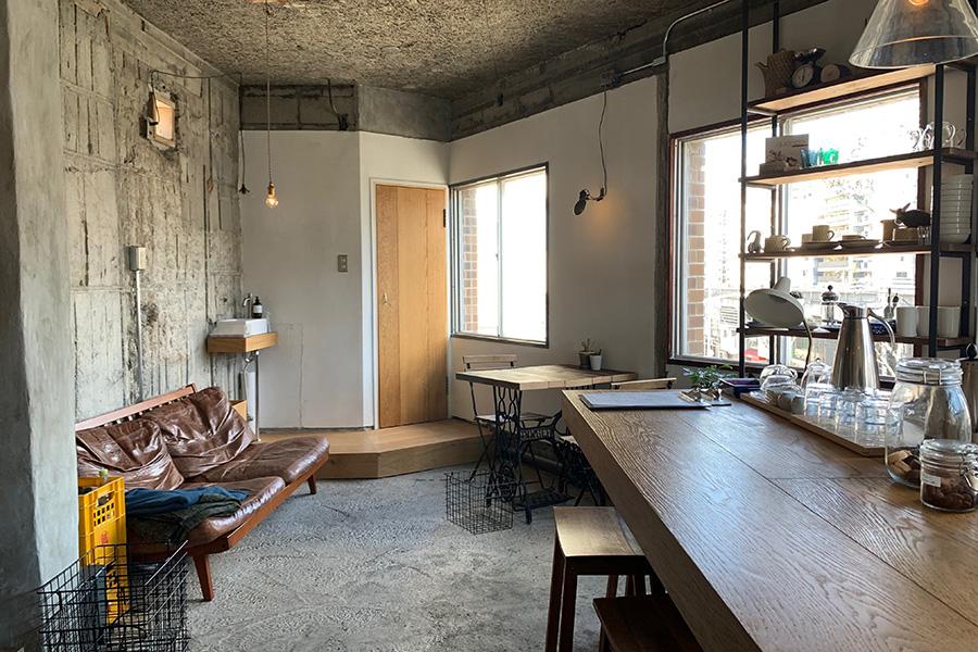 北野にあった人気店「ラルシュ」は、知人の紹介を経て念願のナカハラマンションにお引越し