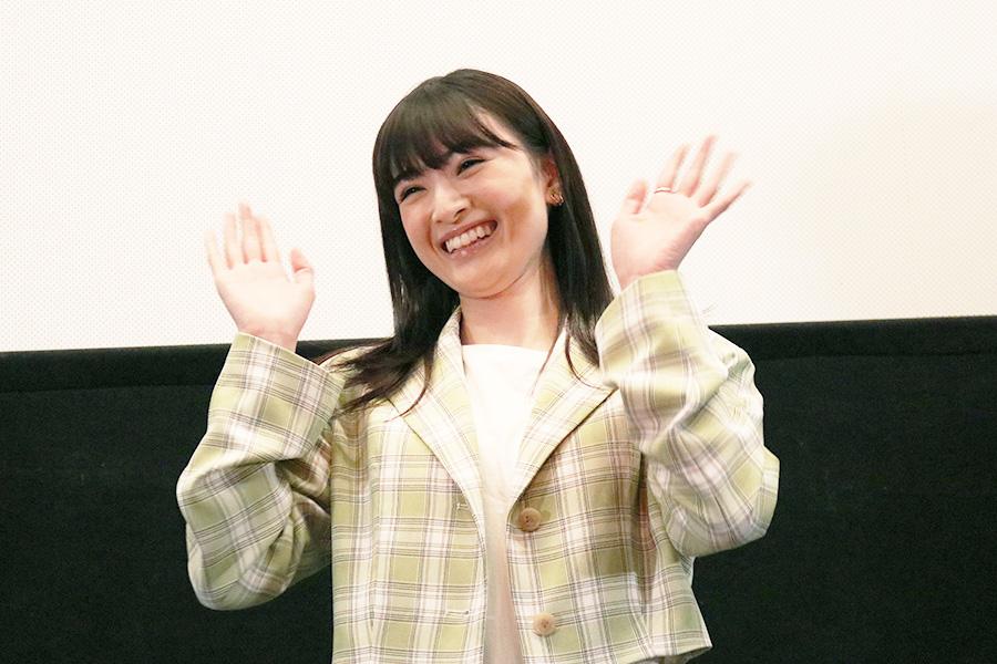「第37回ホリプロタレントスカウトキャラバン 2012」でグランプリを受賞した優希美青。NHK 連続テレビ小説「あまちゃん」、映画『ちはやふる−結び−』などに出演