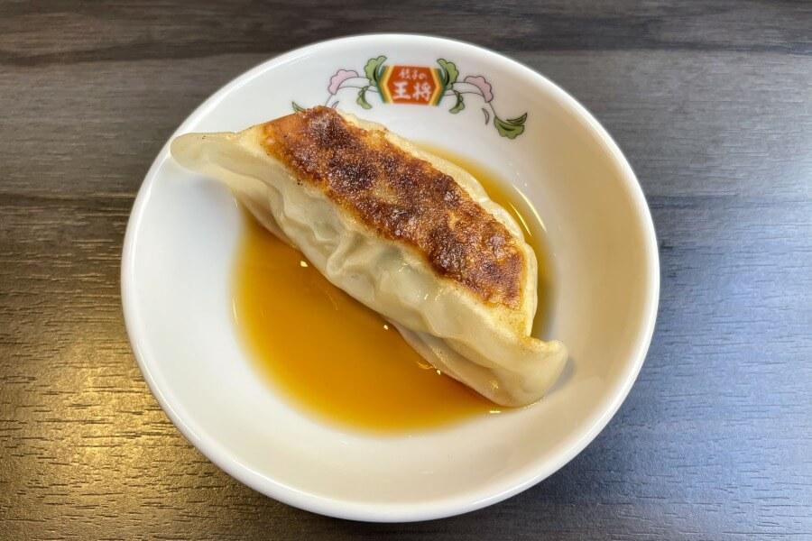 「にんにく激増し餃子」+ゆず風味餃子タレ