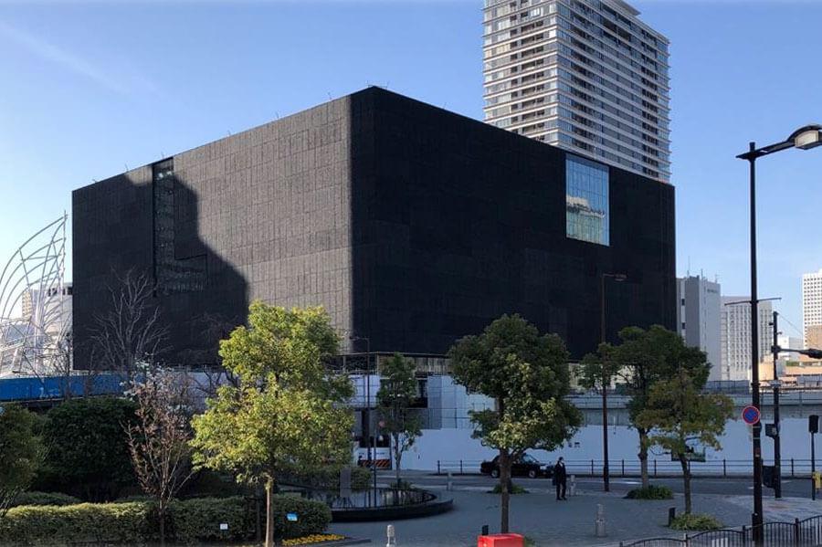 開館に向け準備の進む「大阪中之島美術館」 提供:大阪市 設計:遠藤克彦建築研究所