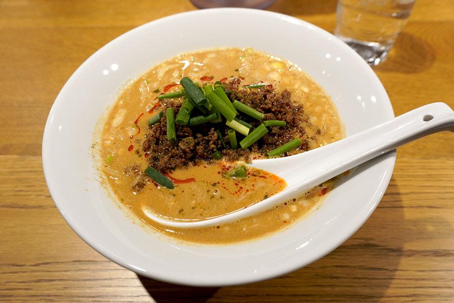 「担々麺 青藍」の担々麺(890円)