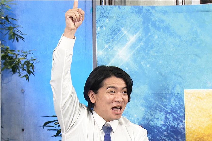 『R-1』『M-1』の2冠を達成した、マヂカルラブリー・野田クリスタル (c)ktv