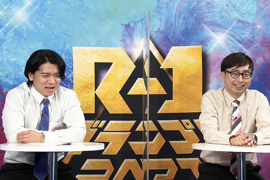 マヂカルラブリー・野田クリスタル(左)、おいでやす小田 (c)ktv
