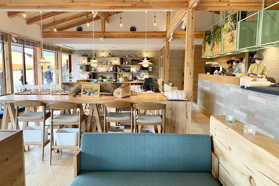 「ケイット」のなかにある北欧ファミリーレストラン「ケイット ルオカラ」。
