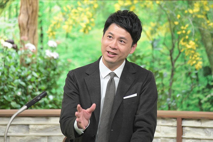 3月13日のゲスト・フリーアナウンサー・石井亮次(写真提供:MBS)