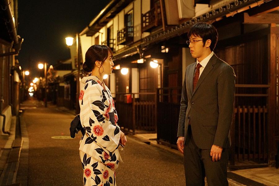 百田夏菜子演じる生駒にひとめぼれする。(C)2020映画「すくってごらん」製作委員会 (C)大谷紀子/講談社