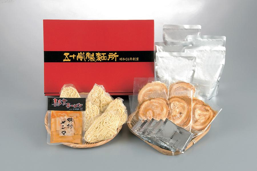「五十嵐製麺」の産地直送喜多方ラーメンセット4806円はネットショップ限定